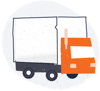 Semitruck illustration